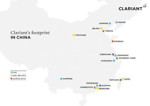 Clariant's China strategy on track