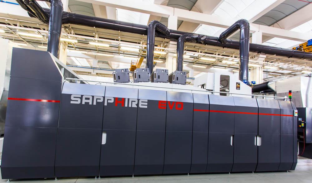 Uteco launches Sapphire Evo hybrid press