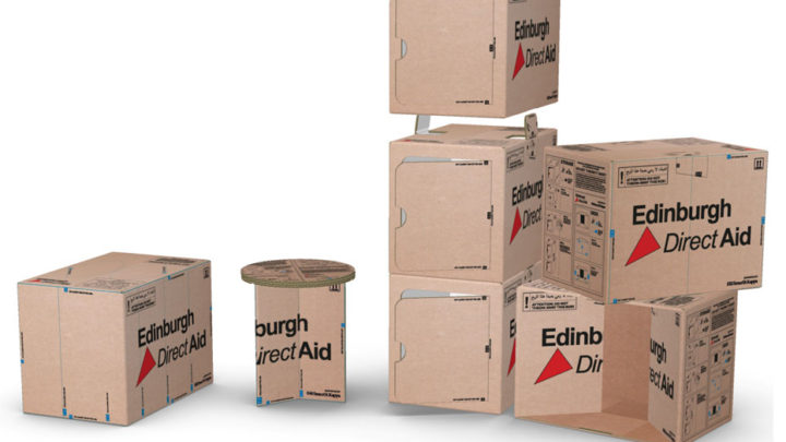Packaging leader Smurfit Kappa has identified a sustainable new use for its aid boxes