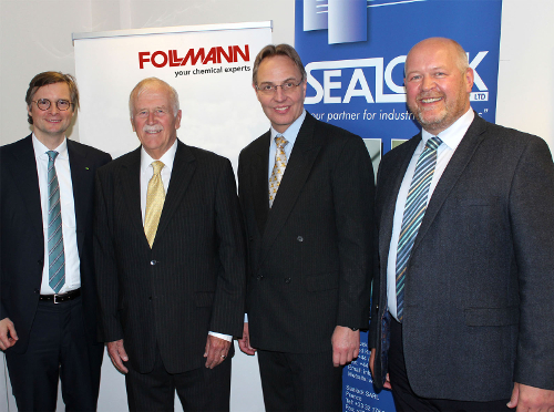 Follmann acquires the British adhesive manufacturer Sealock