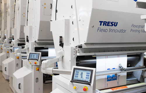 TRESU presents ancillary programme for automated flexo ink supply