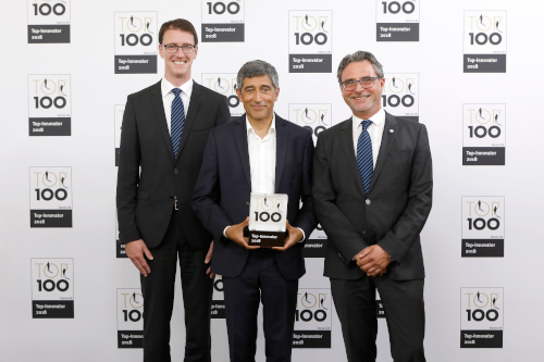 KAMPF successfull at TOP 100 award