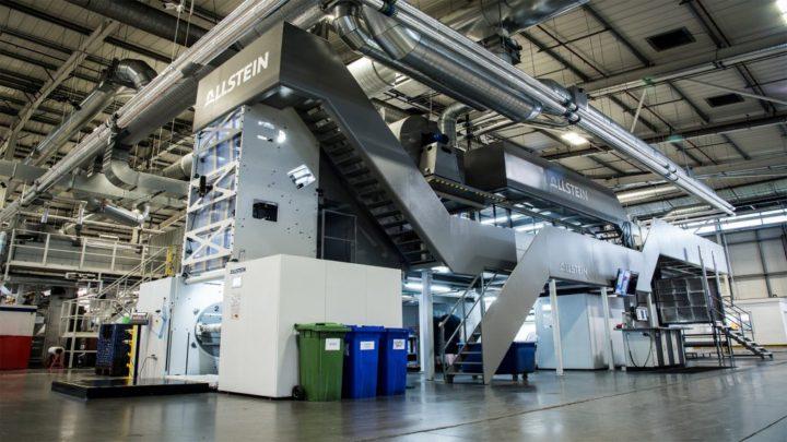 Roberts Mart invests in Allstein flexo press