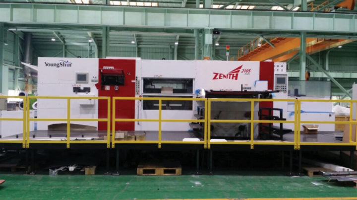 Mid-America Display selects Young Shin die cutter
