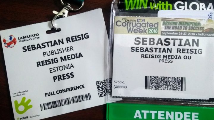 Reisig Media at Labelexpo and CorrExpo