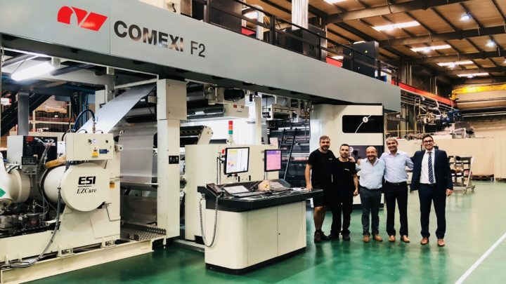 Vishal Containers acquires Comexi F2 MP with EB curing
