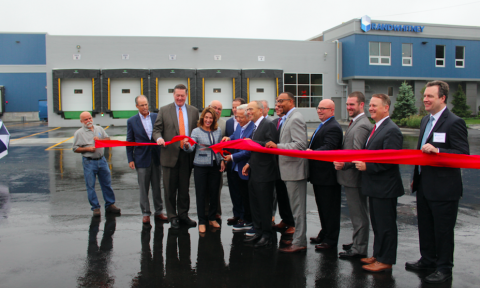 Rand-Whitney Cuts Ribbon on 45,000 SF Addition to their HQ Facility in Worcester