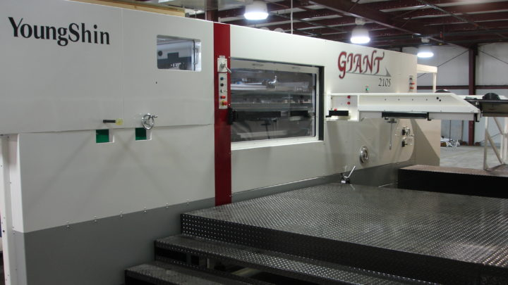 IMAGINE! PRINT SOLUTIONS ACQUIRES SECOND YOUNG SHIN GIANT DIECUTTER FOR CLASSIC GRAPHICS OPERATIONS