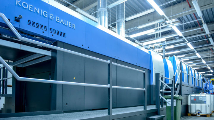 Hammer-Lübeck packaging plant kicks off second century with Rapida 145