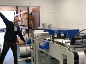 IIJ takes delivery of the latest D-FLex machine from Focus