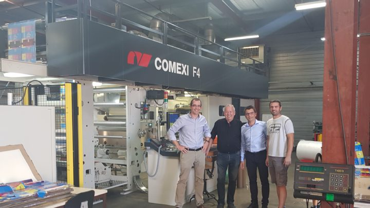 Plastiques Landais renews its confidence in Comexi with the acquisition of a new flexographic press