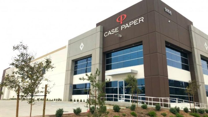 Case Paper opens new facility in California