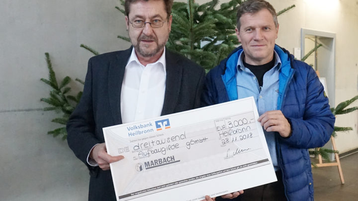Marbach supports charity projects