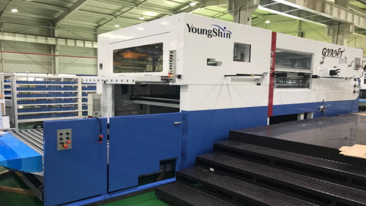 Sutherland Packaging adds Young Shin Giant 170S Diecutter with EZ Feeder