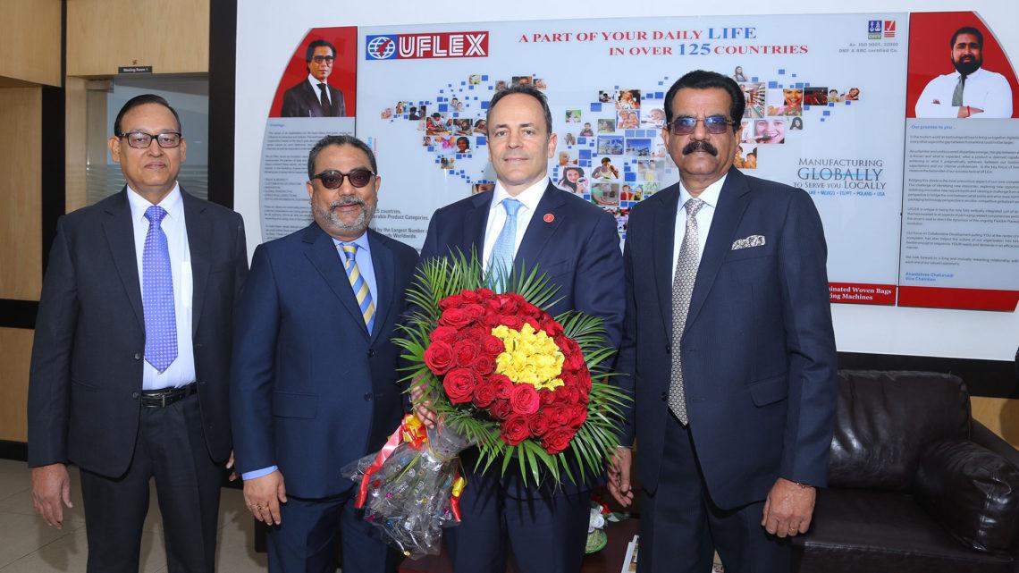 Kentucky Governor visits Uflex plant