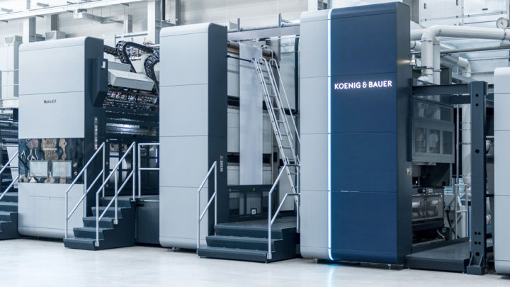 Further RotaJET from Koenig & Bauer for decor printer