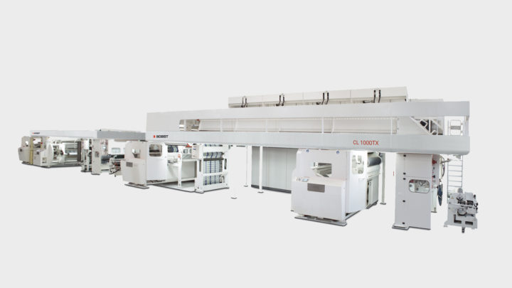 BOBST CL 1000TX triplex laminator delivers superior productivity and quality for Bischof + Klein