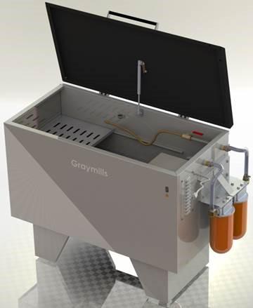 HP Indigo Edition Parts Washer