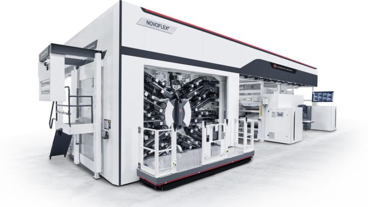 NOVOFLEX II Flexographic Press to Premiere at W&H Open House