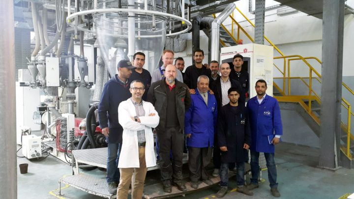 Comptoir National du Plastique (CNP) in Tunisia increases production of its blown film line by 20% with a retrofit from W&H