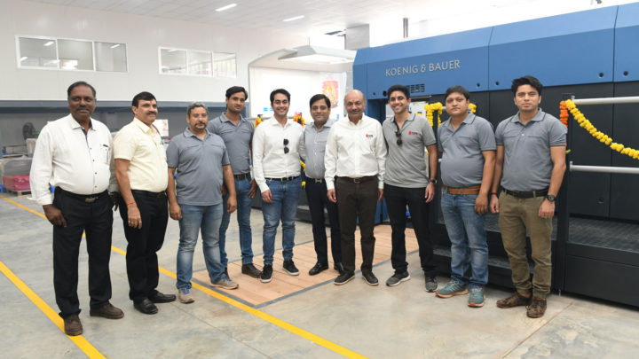 7th Rapida press for major Indian packaging printer
