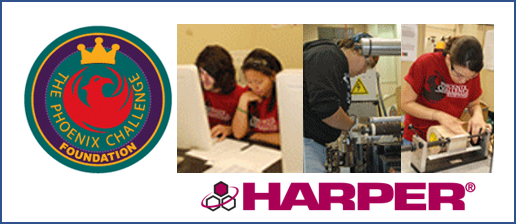 Harper Corporation of America Serves as Purple Sponsor for Phoenix Challenge Foundation Competition