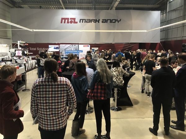 Mark Andy and Partners Host Educational Open House for European Print Students