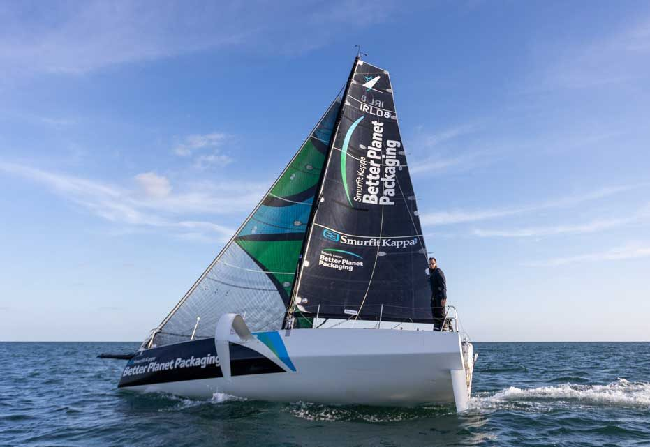 Smurfit Kappa's Better Planet Packaging boat sets sail on sustainability journey