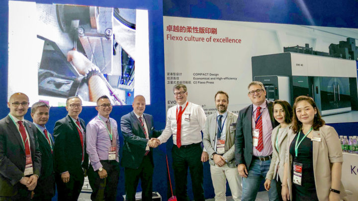 Koenig & Bauer Flexotecnica expands sales network in Southeast Asia
