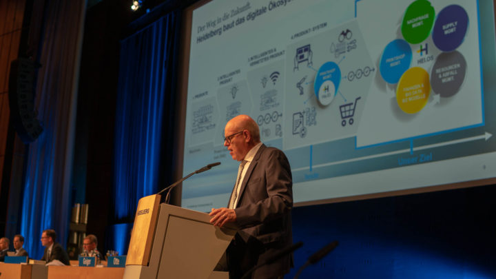 AGM for financial year 2018/2019 – Heidelberg continues digital transformation quickly