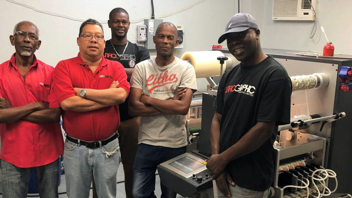 GM label finisher arrives to Jamaica