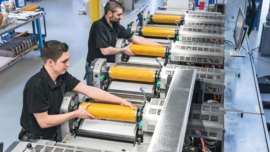Numerous macro trends in label and packaging printing require flexible machine systems