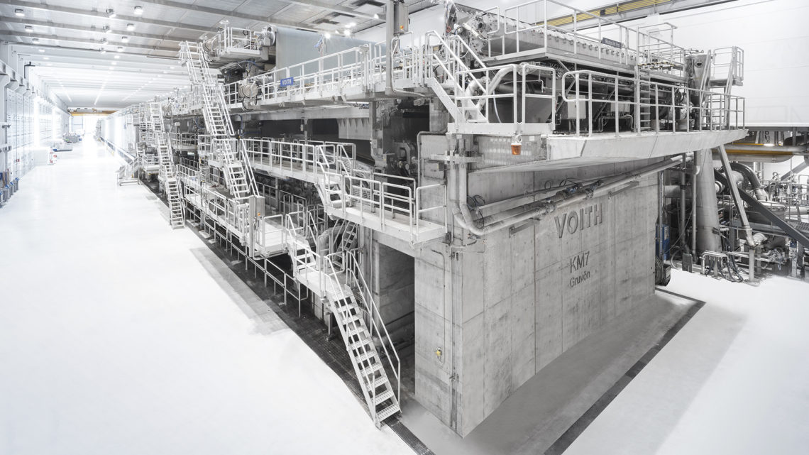 World's most modern board machine successfully commissioned at BillerudKorsnäs in Gruvön