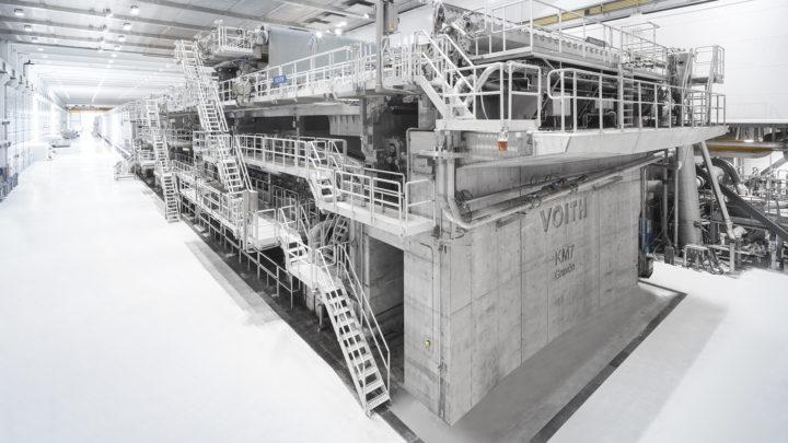 World's most modern board machine successfully commissioned at BillerudKorsnäs in Gruvön