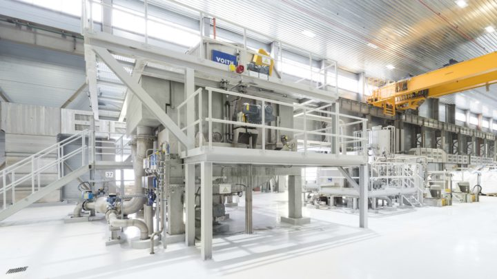 Improved paper quality and increased production capacity with Voith BlueLine products at Umka in Serbia