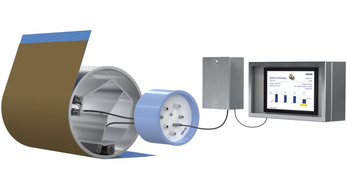 SealView from Voith: Exploit the maximum wear capacity of seal strips with no risk