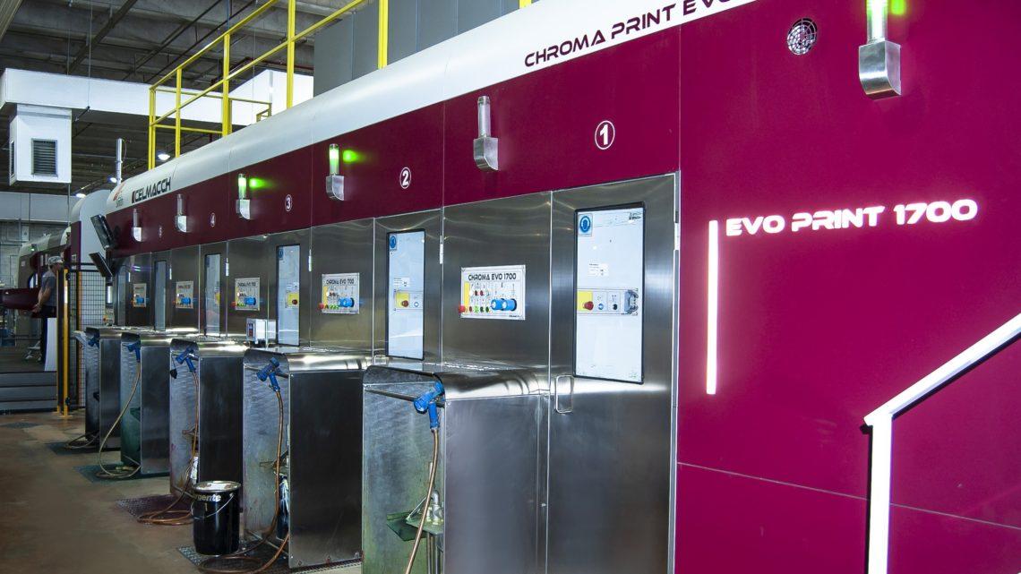 New Celmacch Chroma EVO for DS Smith (Toscana Ondulati)