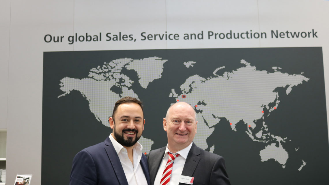 BST eltromat and SeeOne signed a partnership agreement at K 2019