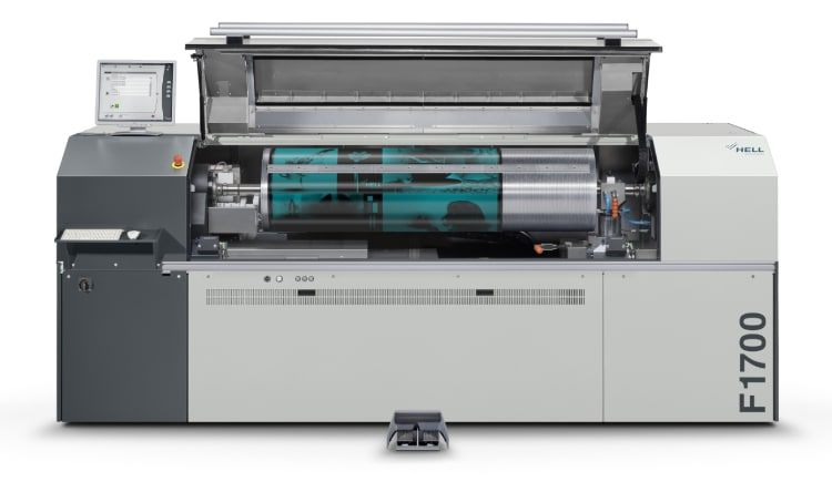 Helioflex F1700 – High-Performance Plate And Sleeve Imager For Digital Flexographic Printing
