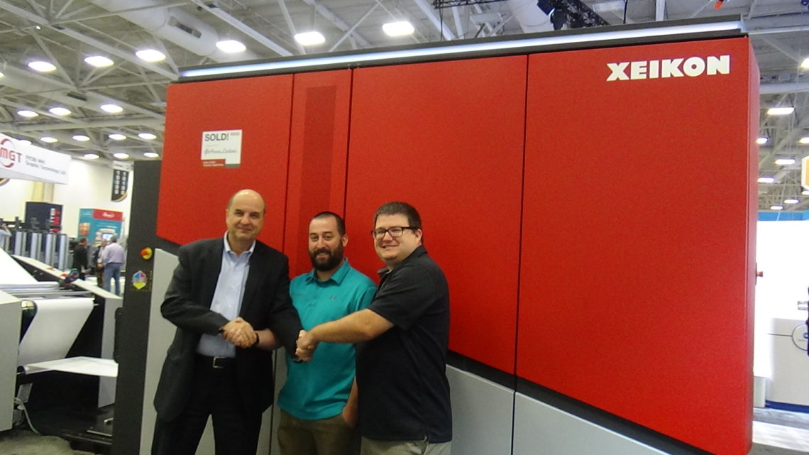 Xeikon Cx500 Launches In North America At Printing United 2019