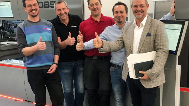 BOBST certificate for Bieling & Petsche Stanzformen GmbH, Austria