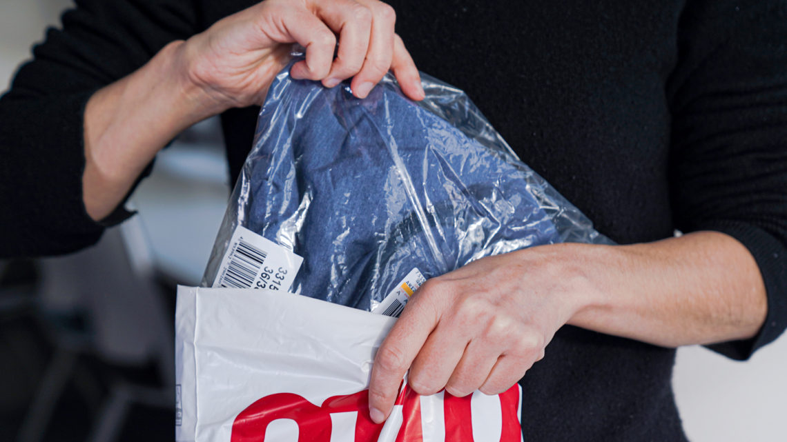 OTTO tests recycled poly bags