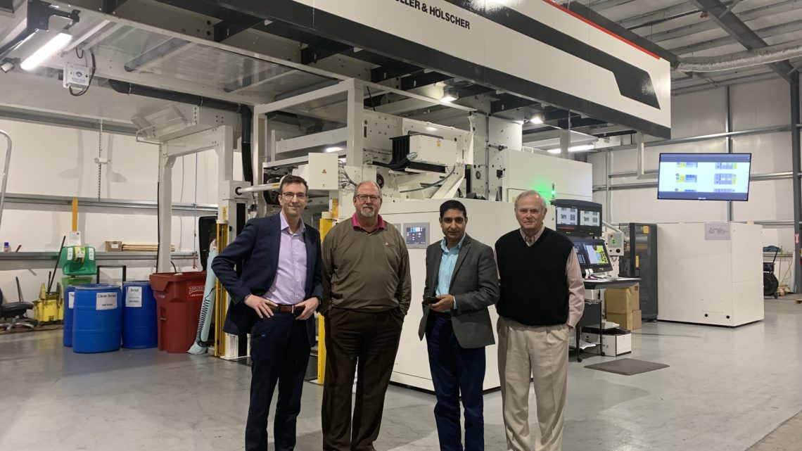 Zim's Bagging Company Adds 10-color MIRAFLEX II Press First Investment in W&H Technology