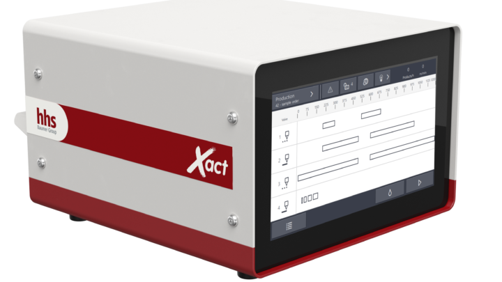 New Xact controller from the Baumer hhs Go product family for simple operation and flexibility in the gluing process