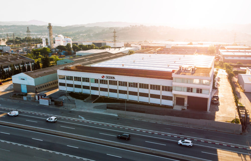 SERRA grows by triplicating the former manufacturing floor