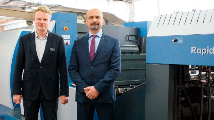 Poland's first Rapida RDC 106 rotary die-cutter now being used in production at Top-Pol