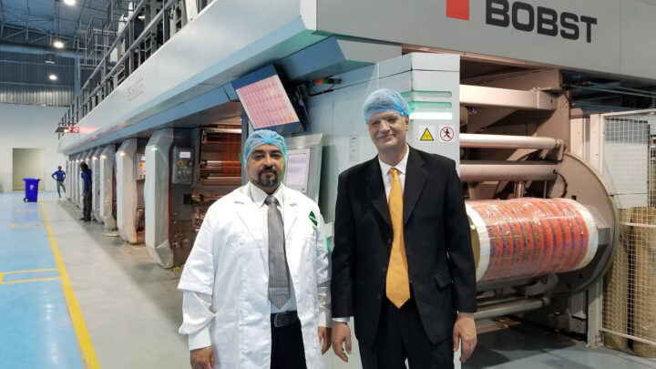 Bhojraj Industries leads the way in gravure printing in Nigeria with large investment in BOBST technology