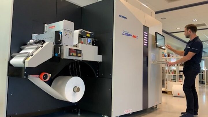 Screen enables remote and on-site 'corona-proof' testing of new SAI label-printing technology