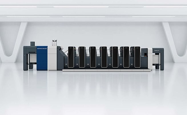 Koenig & Bauer presents the Rapida 76 for high-end print production in B2 format