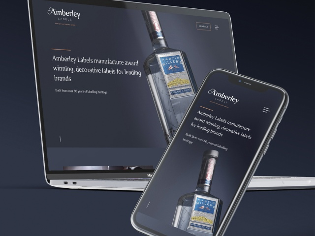 Coveris' Amberley Labels Unveils Luxury New Brand